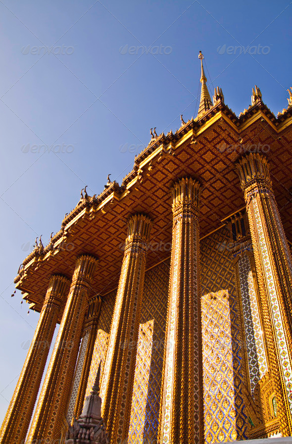 Phra Phuttabat Temple2 - Stock Photo - Images