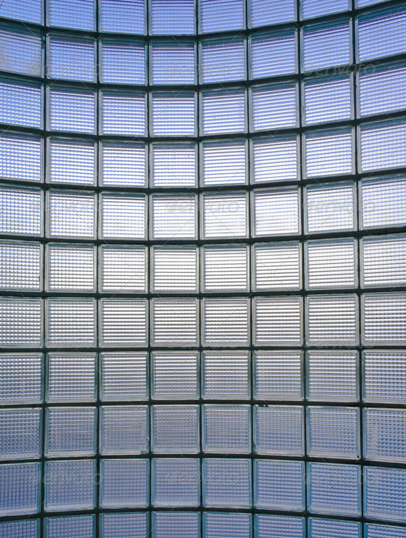 Glass wall pattern - Stock Photo - Images