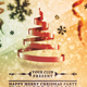 Happy Merry Christmas Party Flyer Template - GraphicRiver Item for Sale