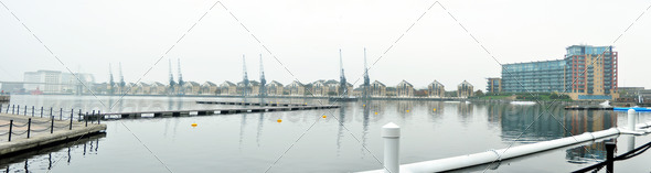 Royal Victoria Dock - Stock Photo - Images