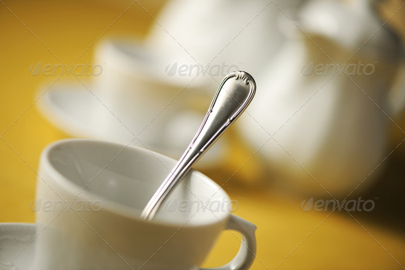 Close up of place setting - Stock Photo - Images