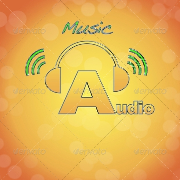 Audio. - Stock Photo - Images
