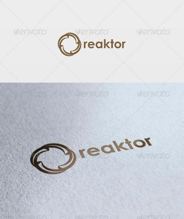 GraphicRiver Reaktor Logo 3317698