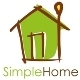 Simple Home Logo - GraphicRiver Item for Sale
