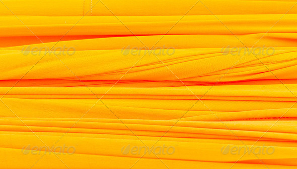 Strip of yellow cloth - Stock Photo - Images