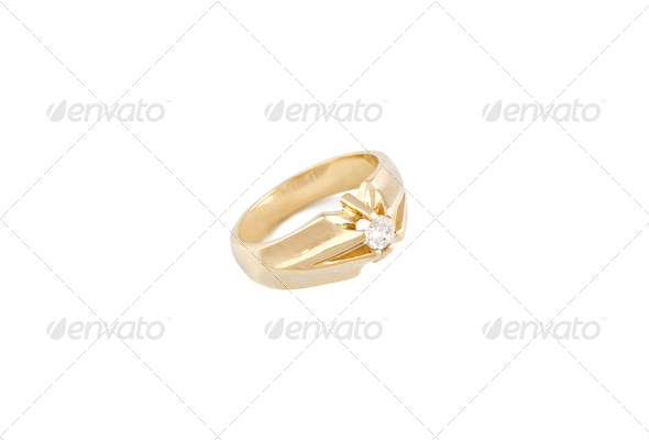 Diamond ring - Stock Photo - Images