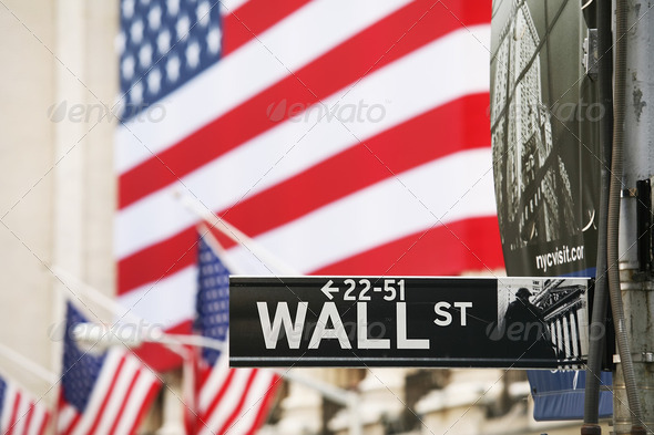 wall st - Stock Photo - Images