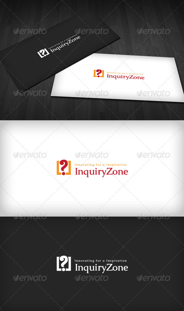 GraphicRiver Inquiry Zone Logo 3318419