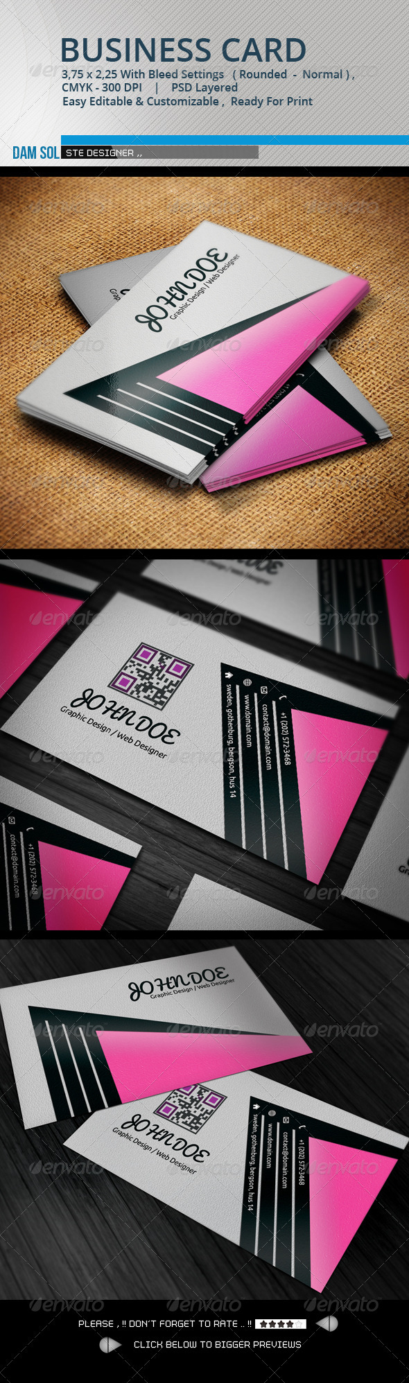 GraphicRiver Creative Business Card 3296110