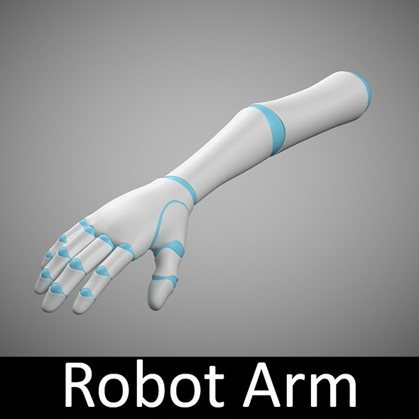 3DOcean Robot Arm 3319837