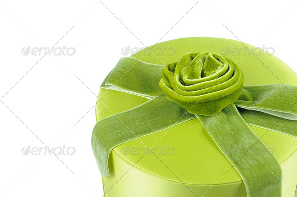 Elegant gift box - Stock Photo - Images