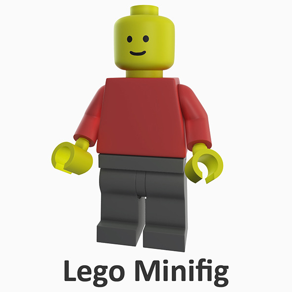 3DOcean Lego Minifig 3319858