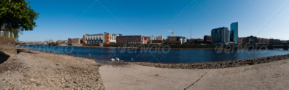 Limerick panorama - Stock Photo - Images