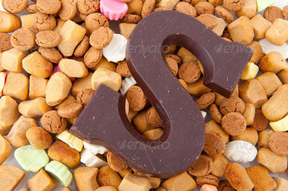 Sinterklaas candy - Stock Photo - Images