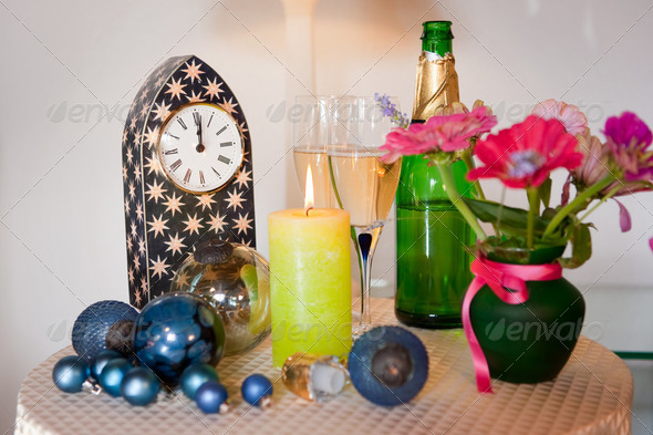 new years eve - Stock Photo - Images