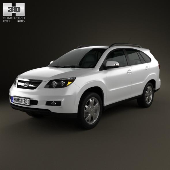 3DOcean BYD S6 2012 3320893
