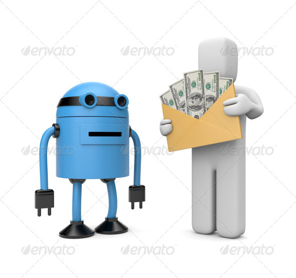 Automatic payment - Stock Photo - Images