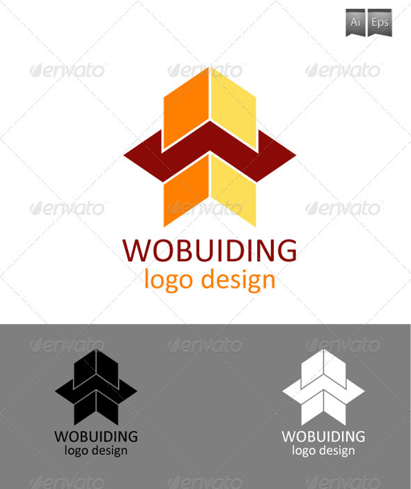 GraphicRiver Wobuiding Logo Design 3303025