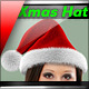 Xmas Santa Hat - GraphicRiver Item for Sale