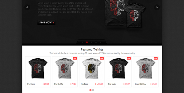 ThemeForest T-shirts PrestaShop Theme 3310527