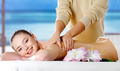 Smiling girl  getting spa massage - PhotoDune Item for Sale