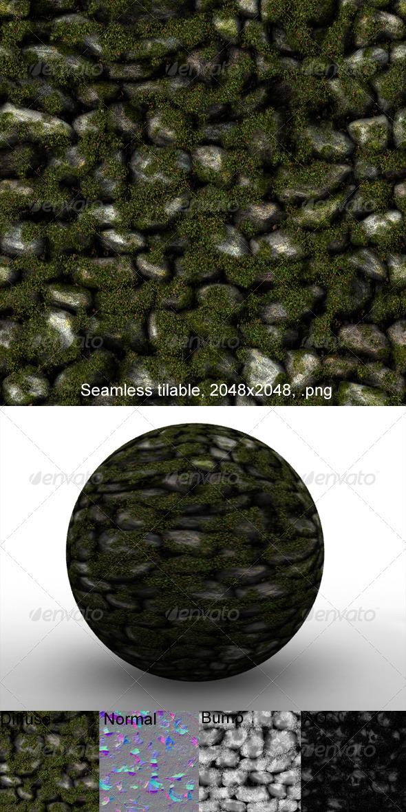 3DOcean Boulder Wall 3 3184106