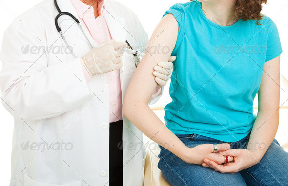 Vaccination Closeup - Stock Photo - Images