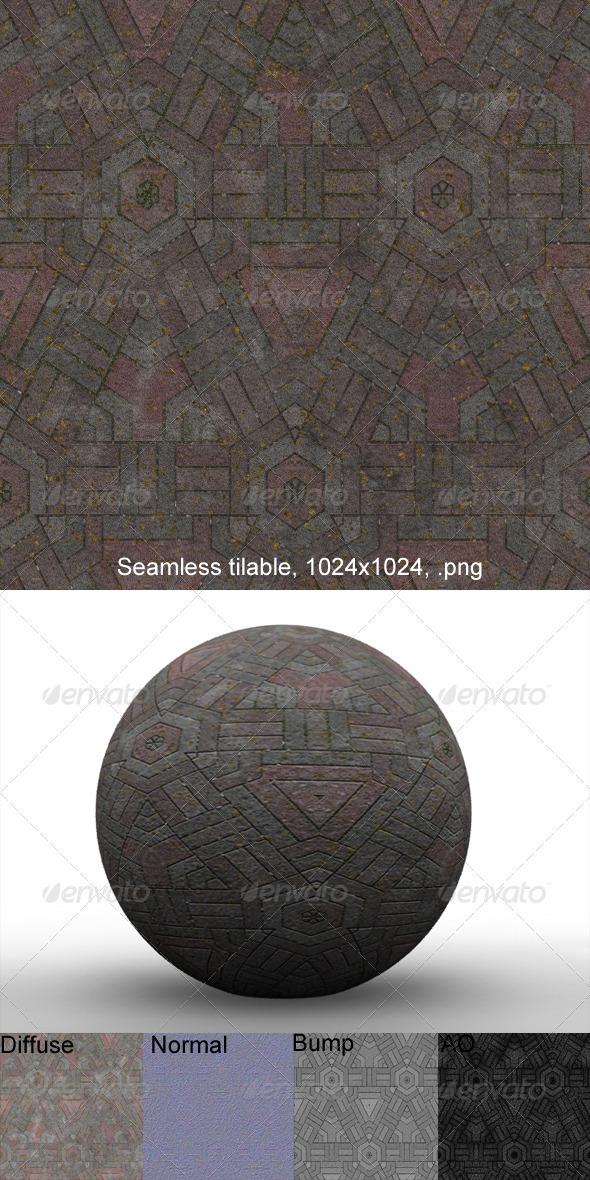 3DOcean Pavement 13 3203341