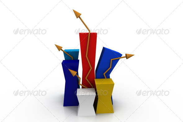 Growth graph - Stock Photo - Images