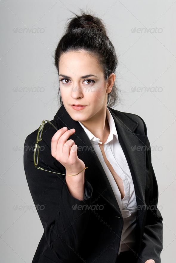 Businesswoman portrait - Stock Photo - Images
