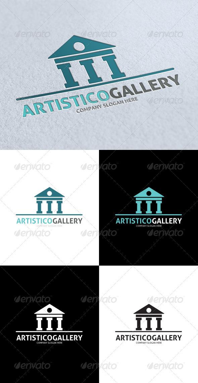 GraphicRiver Artistico Gallery Logo 3312715