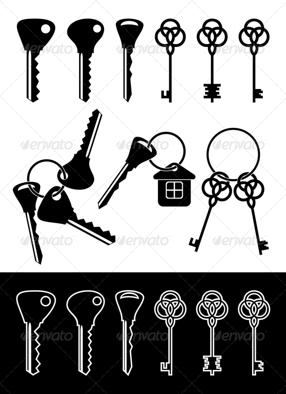 GraphicRiver Different keys 3326700