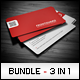 Business Cards Bundle #7 - GraphicRiver Item for Sale