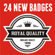 24 New Badges &amp;amp; Signs - GraphicRiver Item for Sale