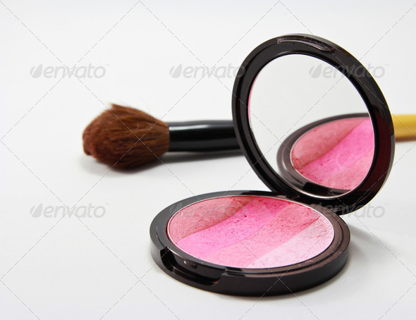 Blush on - Stock Photo - Images