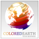 Colored Earth Logo - GraphicRiver Item for Sale
