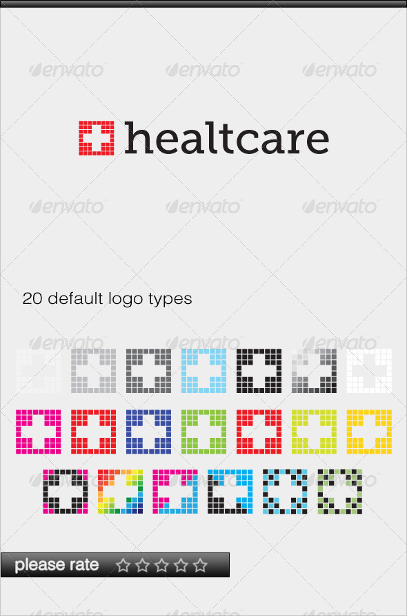GraphicRiver Healtcare Logo 3331335