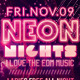 Neon Nights / Glow | Flyer + Facebook Cover - GraphicRiver Item for Sale