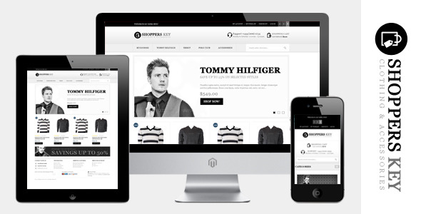 Shoppers Key - Responsive Magento Theme