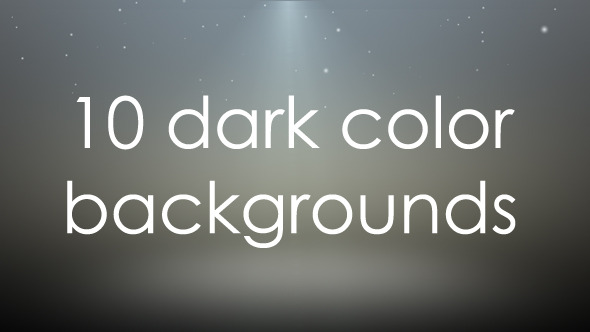 VideoHive 10 Dark Color Backgrounds 3314749