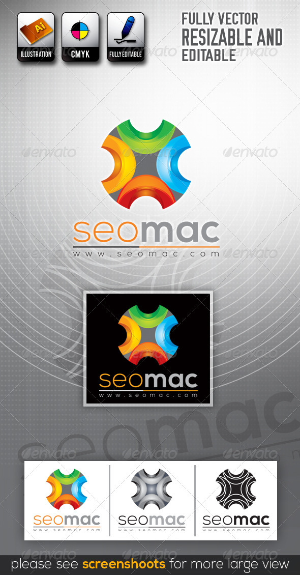 GraphicRiver SeoMax Logo Templates 3014363