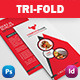 Restaurant Business Tri-Fold - GraphicRiver Item for Sale
