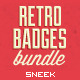 Retro Vintage Badges Bundle-Graphicriver中文最全的素材分享平台