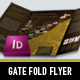 Exclusive Single Gate Fold Flyer - GraphicRiver Item for Sale