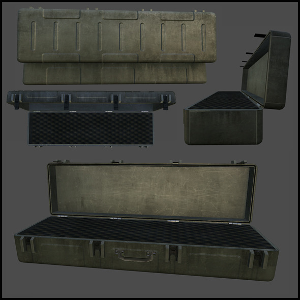 3DOcean Rifle Case 3339120