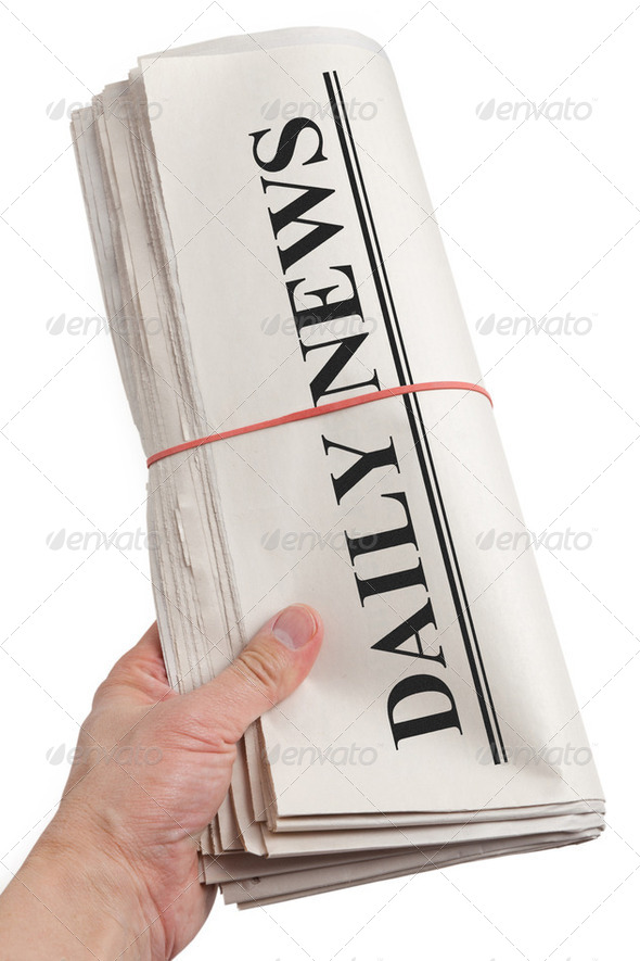 Daily News - Stock Photo - Images