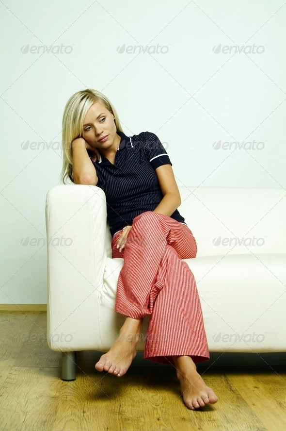 Womans Portrait - Stock Photo - Images