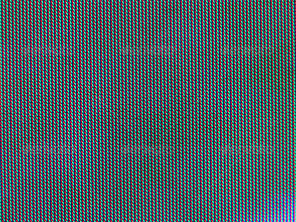LCD TV Screen Closeup Showing Red Green and Blue - Stock Photo - Images