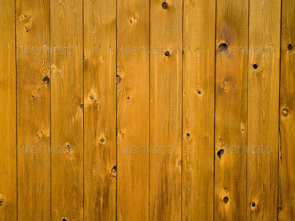 Wooden Fence Board Background - Stock Photo - Images