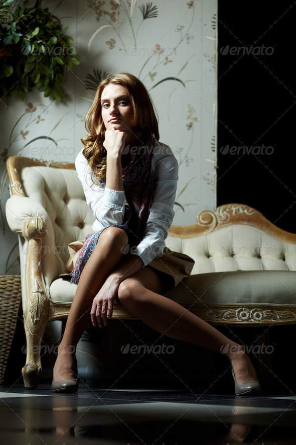 Posh girl - Stock Photo - Images